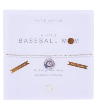 a little BASEBALL MOM - bracelet