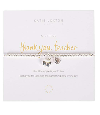 a little THANK YOU TEACHER - bracelet