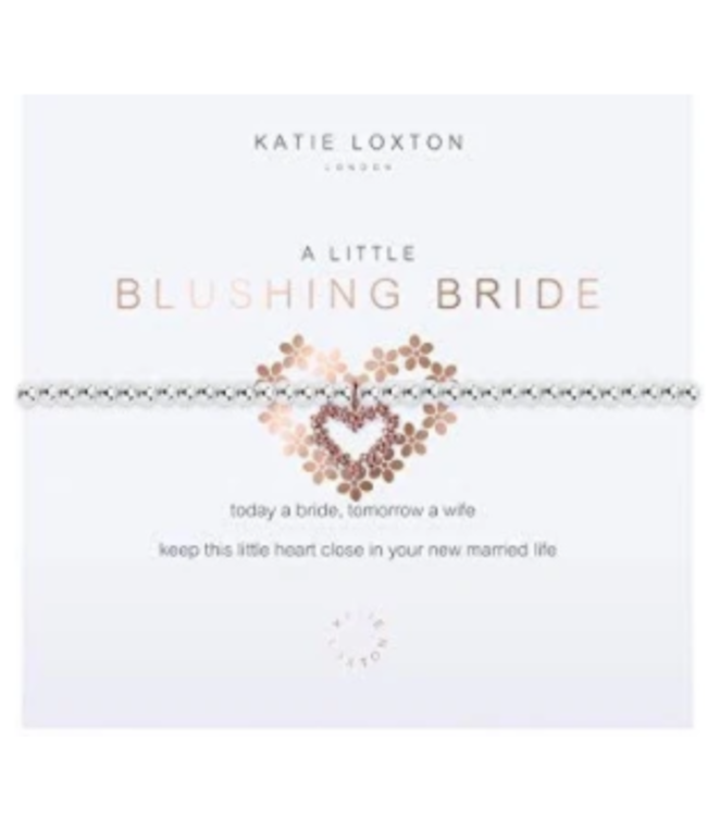 a little Blushing Bride- bracelet
