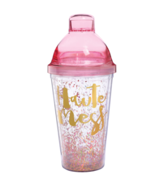 Shaker Haute Mess w/Pink 16oz