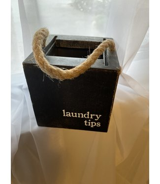 Mud Pie Laundry Tips Mini Box
