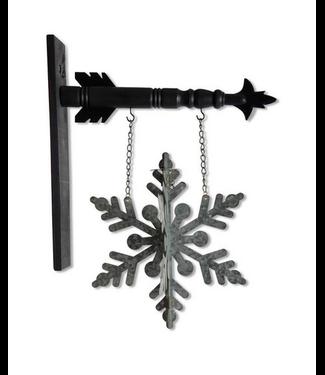 3D Tin Snowflake Arrow Replacement