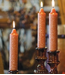 Root Collenette Candle 9 inch