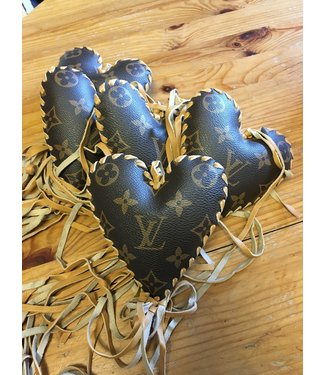 Louis Vuitton Heart with Fringe VIntage