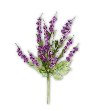 "24"" Dark Purple Lavender Spray"