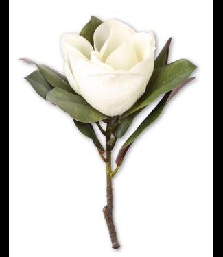 """17"""" White Magnolia Stem"""