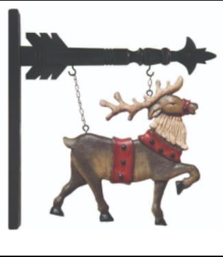 Hanging Reindeer for Arrow