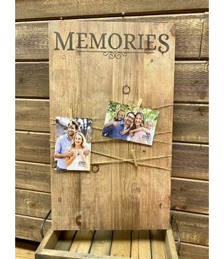Photo - Memories Clip Sign