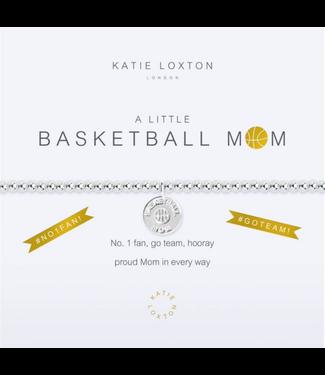 a little BASKETBALL MOM - bracelet