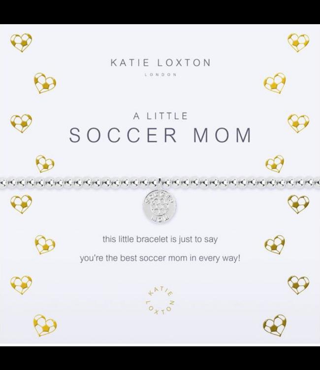 a little SOCCER MOM - bracelet