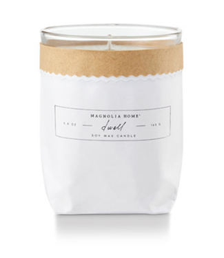 Magnolia Home MH Kraft-Textured Candle, Dwell