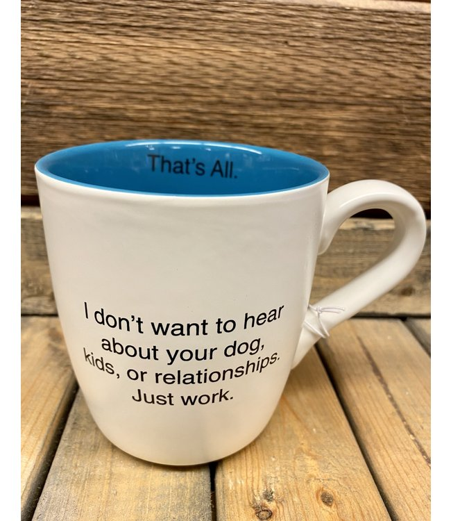 16oz Mug Just Work