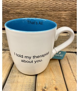 16oz Therapist Mug