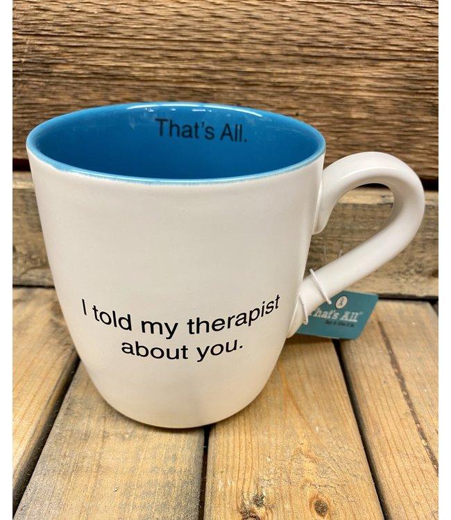16oz Therapist Mug