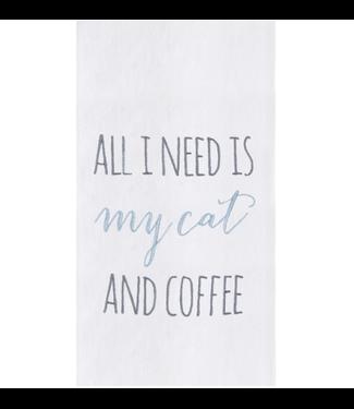 My Cat & Coffee Towel