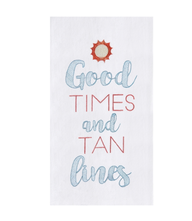 Good Times Tan Lines Towel