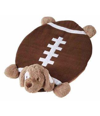 Mud Pie Football Baby Mat