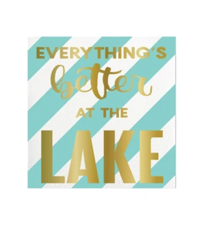 Better at the Lake Bev Napkin 20ct