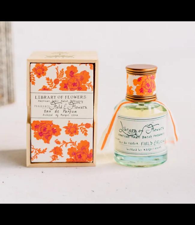 Library of Flowers Field and Flowers Eau de Parfum