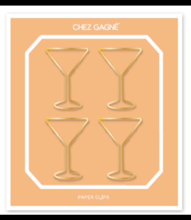 Paper Clip Mini Pack - Martini Glass