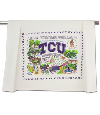 Texas Christian Univ (TCU) Dish Towel