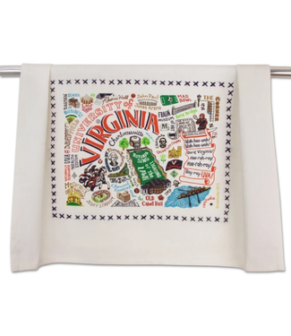 Univ of Virginia Dish Towel