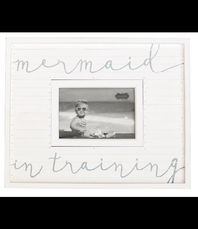 Mud Pie Mermaid in Training Frame