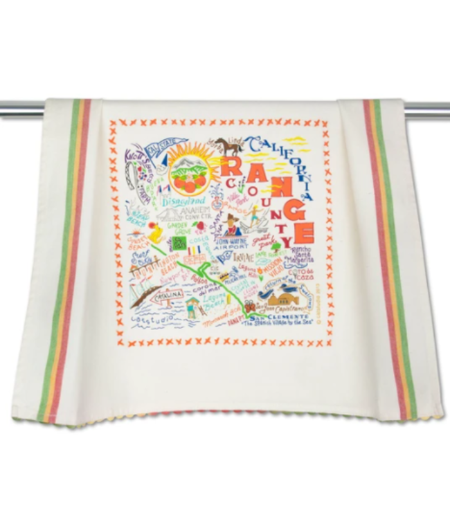 Orange County Dish Towel