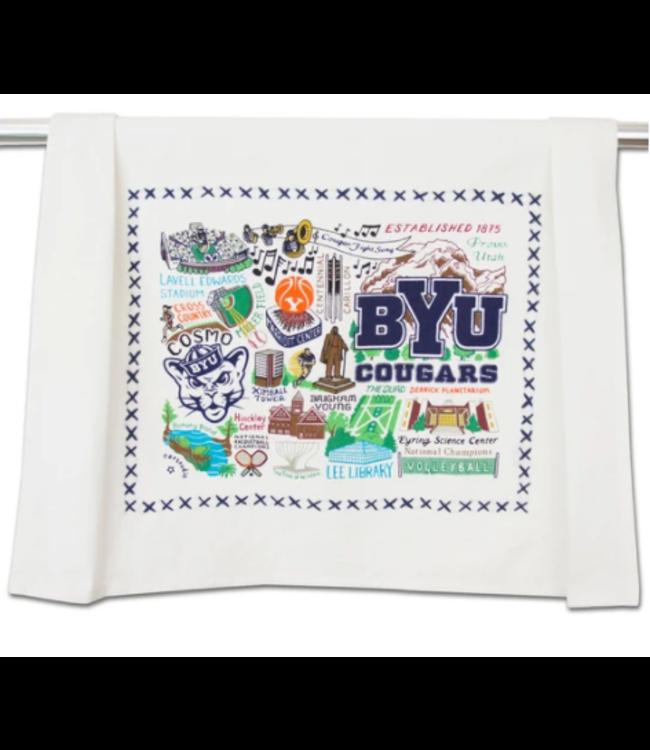 Brigham Young Univ (BYU) Dish Towel