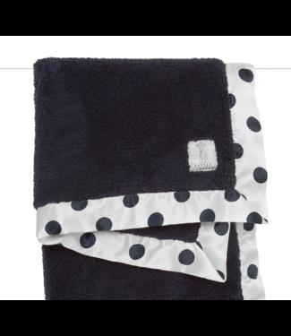 New Dot Chenille Blanket Denim