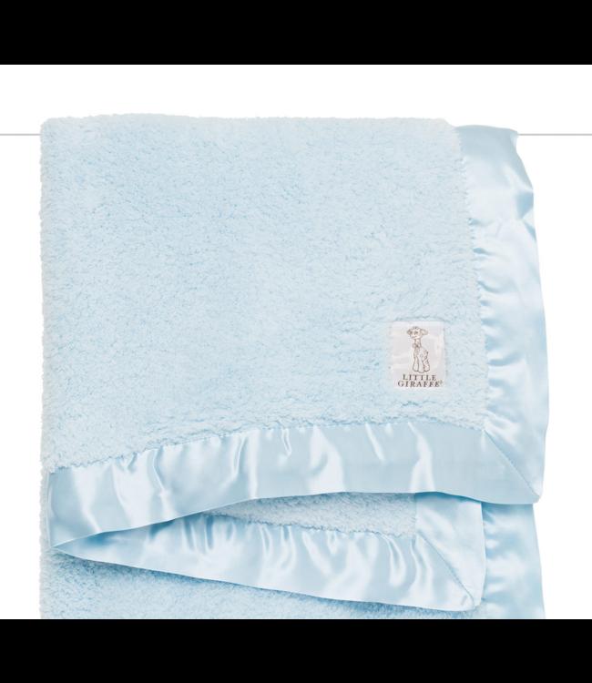 Chenille Blanket Blue