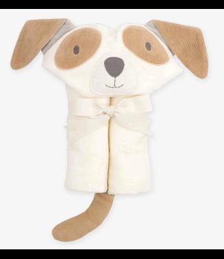 Bath Wrap Towel White Puppy