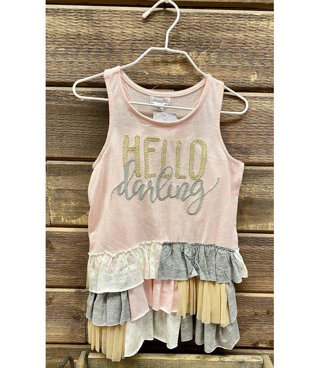 Mud Pie Darling Ruffle Dress 3T