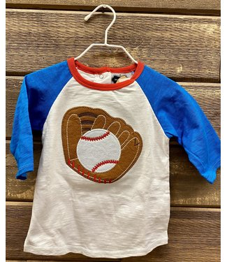 Mud Pie Baseball Shirt Large