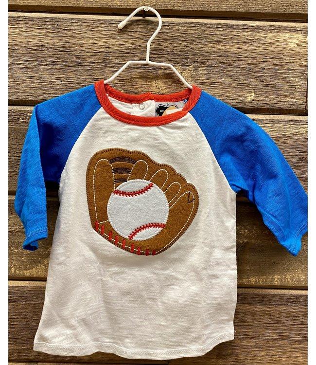 Mud Pie Baseball Shirt Large