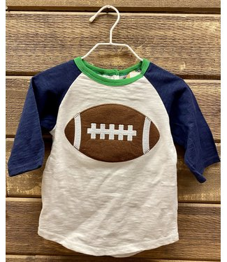 Mud Pie Football Shirt Large