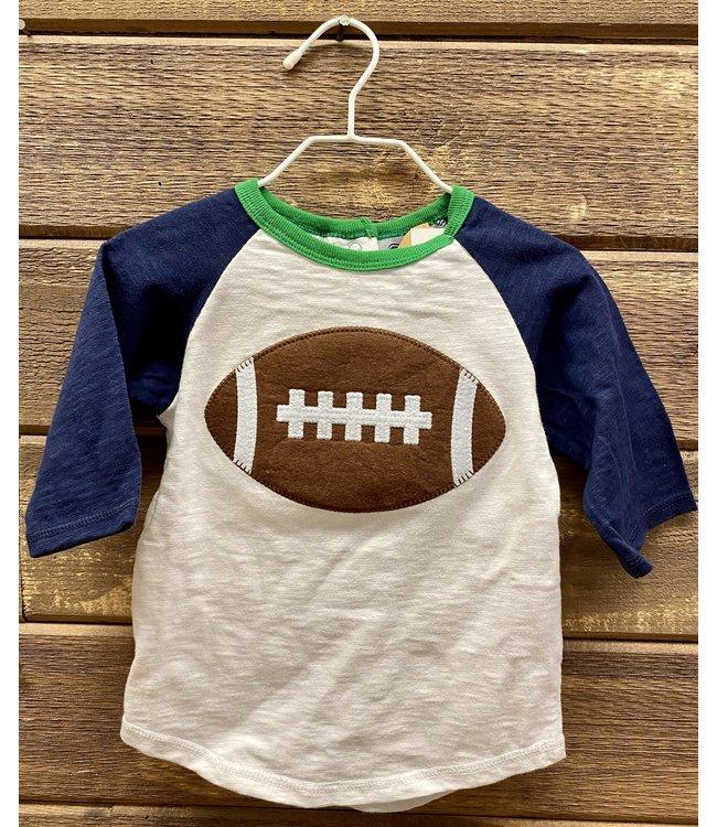 Mud Pie Football Shirt Med