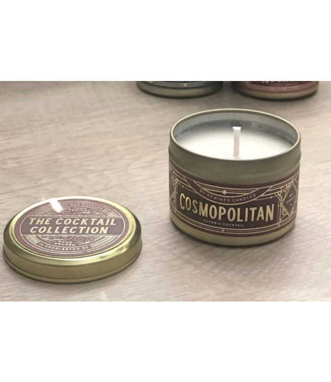 Rewined Cocktail Collection Cosmopolitan Candle 2.5oz