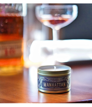 Rewined Cocktail Collection Manhattan Candle 2.5oz