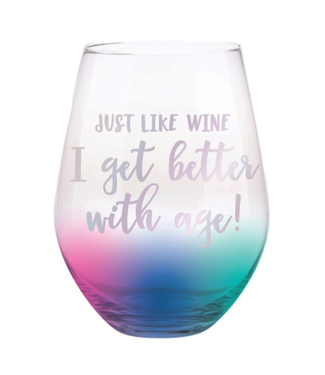 Better with Age Stemless Wine Glass 30oz