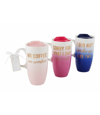 Mud Pie Ombre Travel Mug