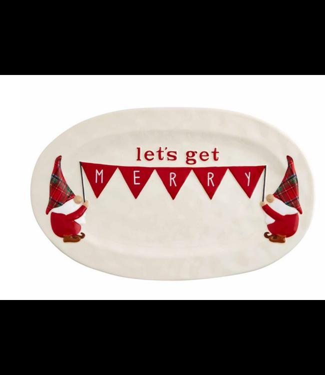 Mud Pie Gnome Serving Platter