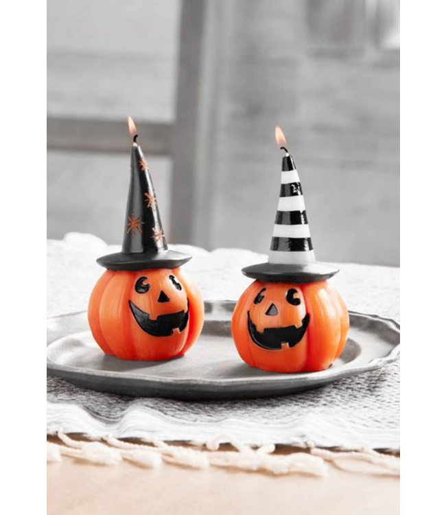 Mud Pie Halloween Pumpkin Candles