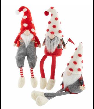 Mud Pie Christmas Dangle Leg Gnomes