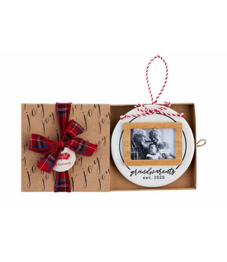 Mud Pie Grand Photo Ornament