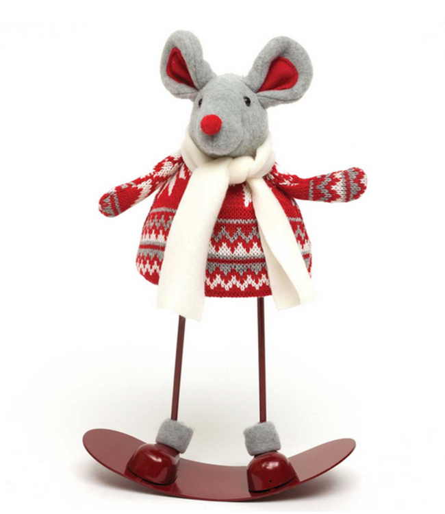 "13"" Missy Mouse Rocking Snowboard"