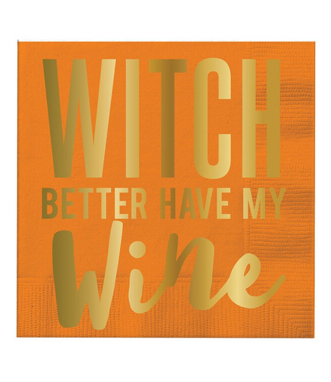 Witch Have My Wine Napkin 20CT
