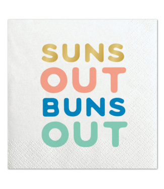 Suns Out Bev Napkin 20ct