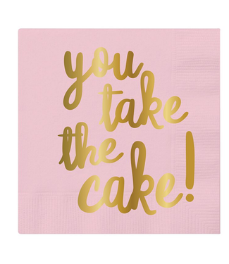 You Take Cake Bev Napkin 20ct