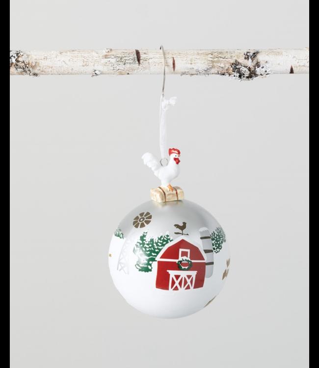 Sullivans Rooster Ball Ornament